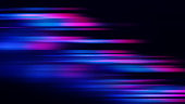 istock Led Light Speed Abstract Background Technology Motion Neon Stripe Colorful Pattern Blurred Prism Blue Purple Pink Lines Bright Futuristic Fluorescent Texture Black Backdrop Distorted Macro Photography 1316460284