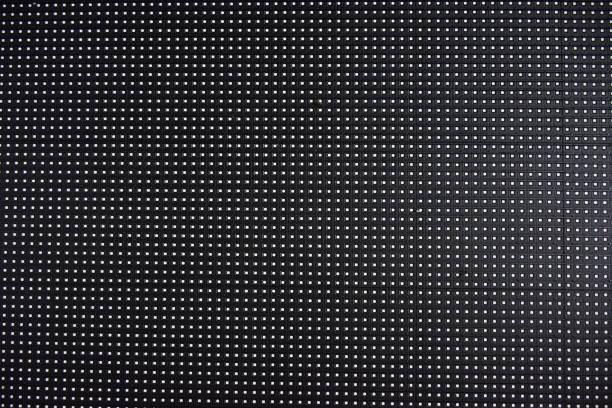un écran de panneau led, fond de texture sur les détails de la technologie. - led photos et images de collection