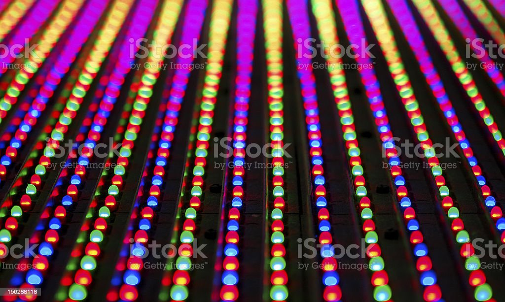 Led screen panel texture royalty-free stock photo