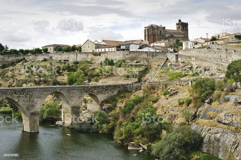 Ledesma, Castilla y Leon, Spain stock photo