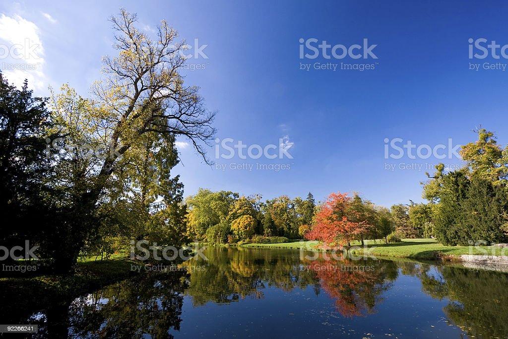 Lednice-Valtice - Autumn royalty-free stock photo