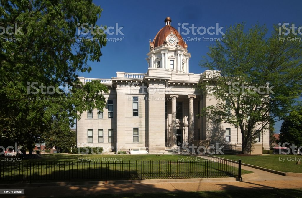 Lee County Courthouse  (MS) stock photo