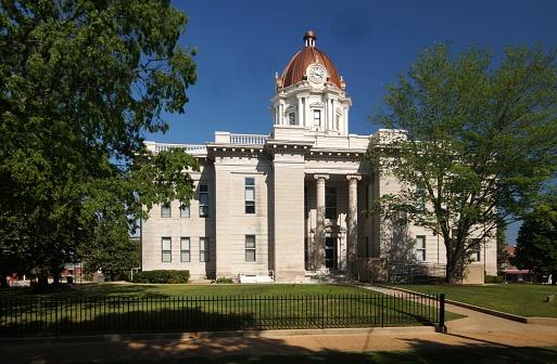 Lee County Courthouse Stockfoto en meer beelden van Fotografie