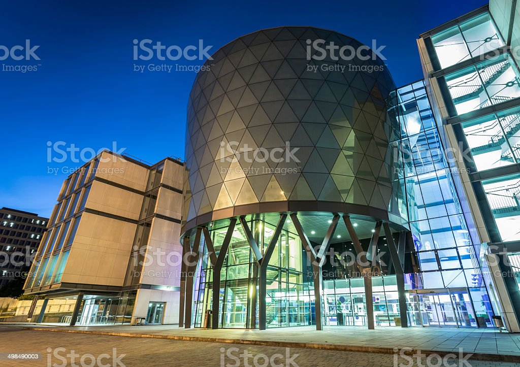Leeds Beckett University Campus, Rose Bowl Building stock photo