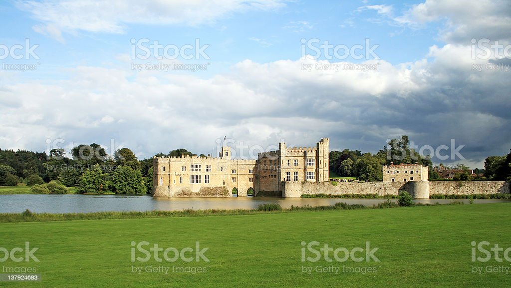 Leeds Castle in Kent, England royalty-free stock photo