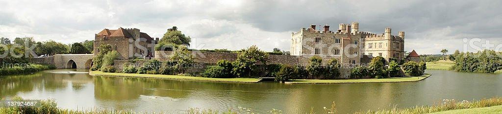 Leeds Castle in Kent, England stock photo