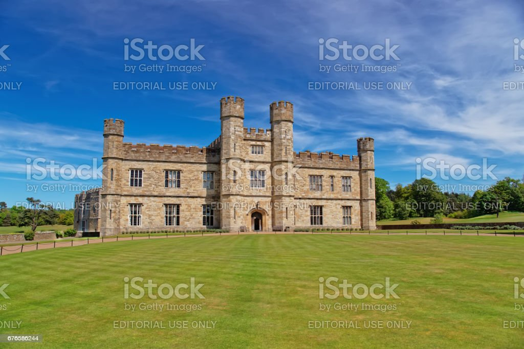 Leeds Castle in Kent UK stock photo