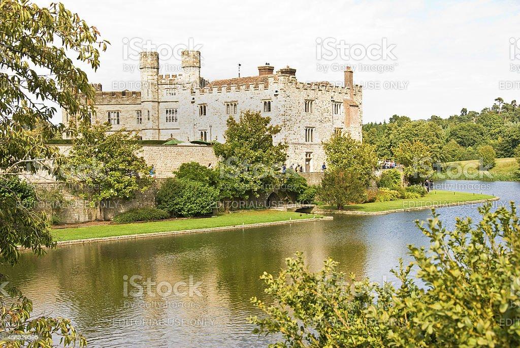 Leeds Castle, Maidstone, Kent, UK royalty-free stock photo