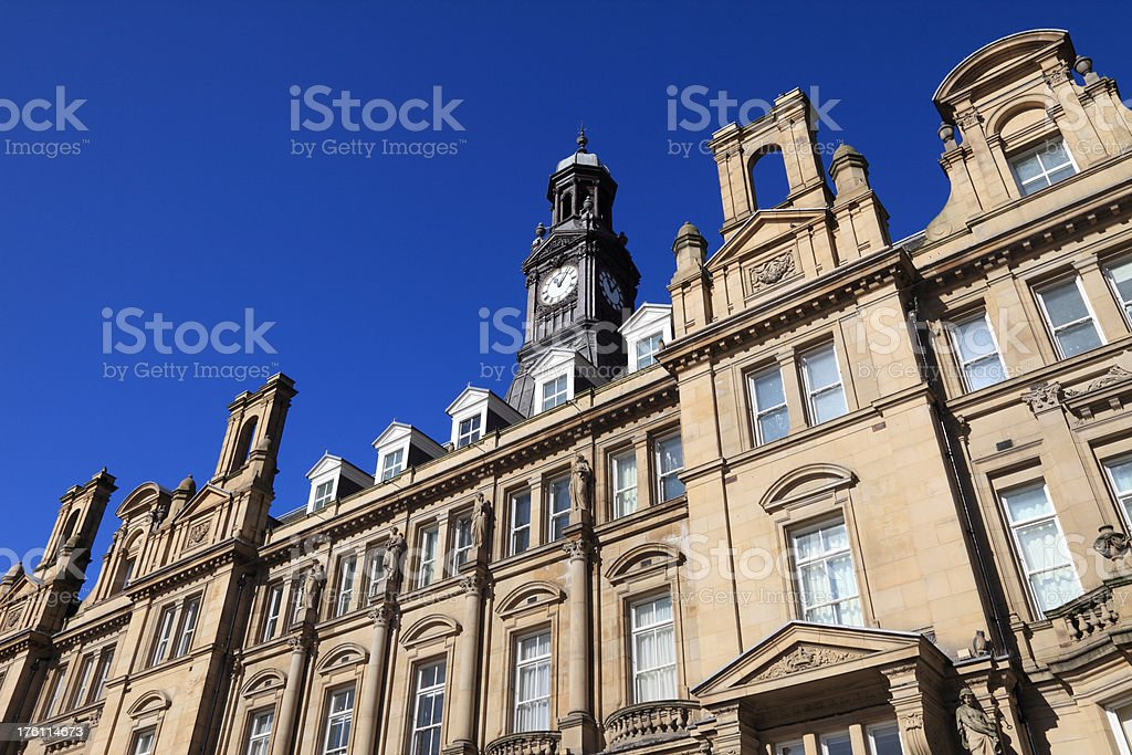 Leeds City Square royalty-free stock photo