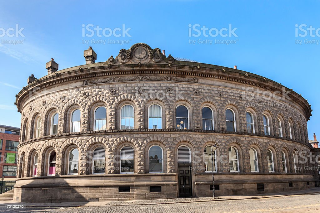 Leeds Corn Exchange stock photo