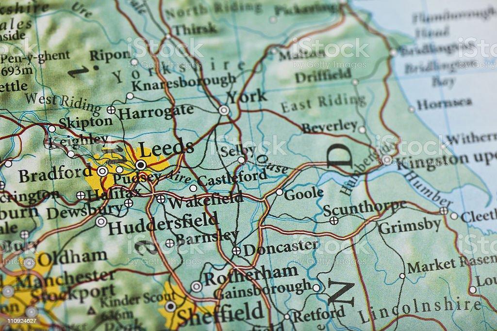 Leeds, England stock photo