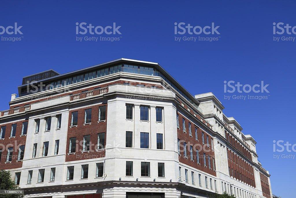 Leeds Headrow royalty-free stock photo