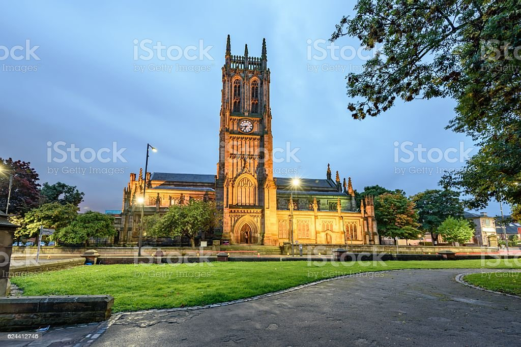 Leeds Minster (England) stock photo