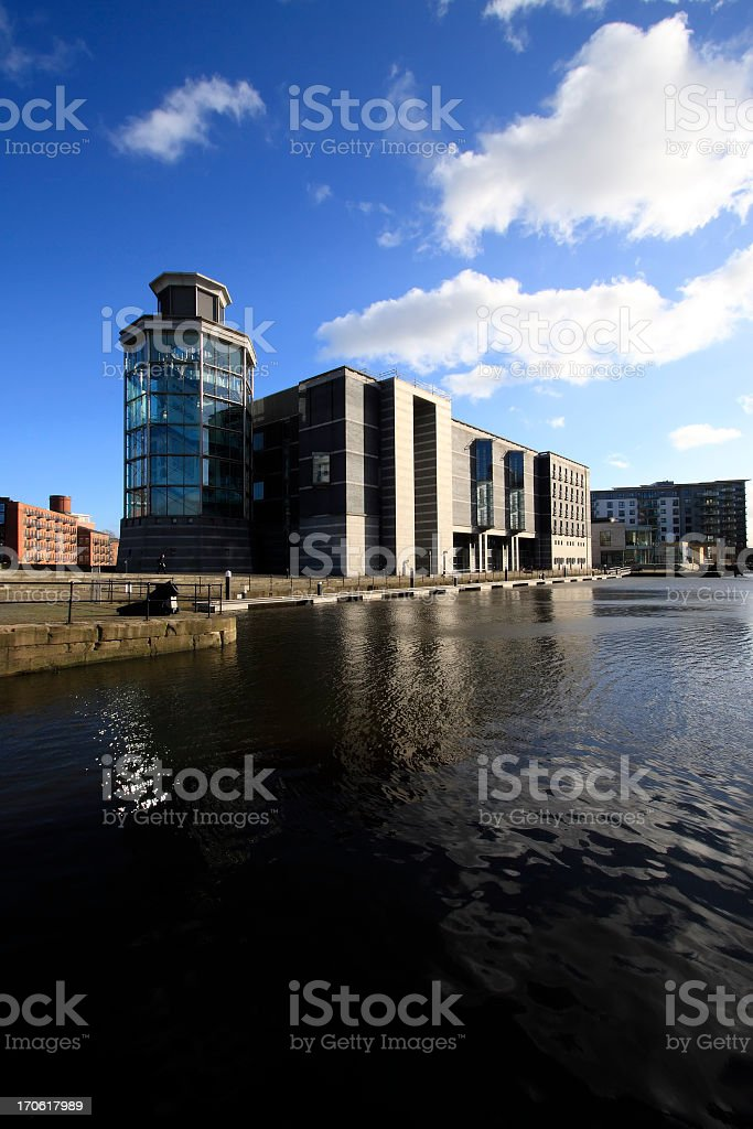 Leeds Royal Armouries royalty-free stock photo