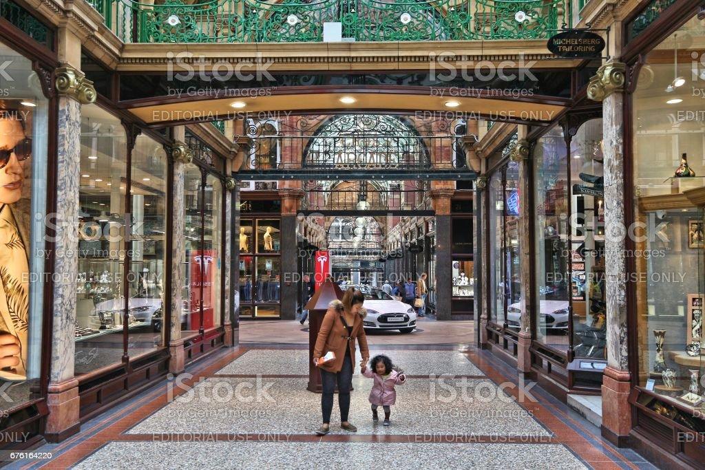 Leeds UK stock photo