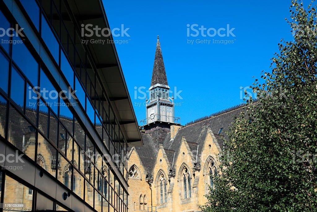 Leeds University Business School royalty-free stock photo