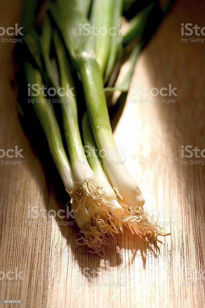 Leek vegetables royalty-free stock photo