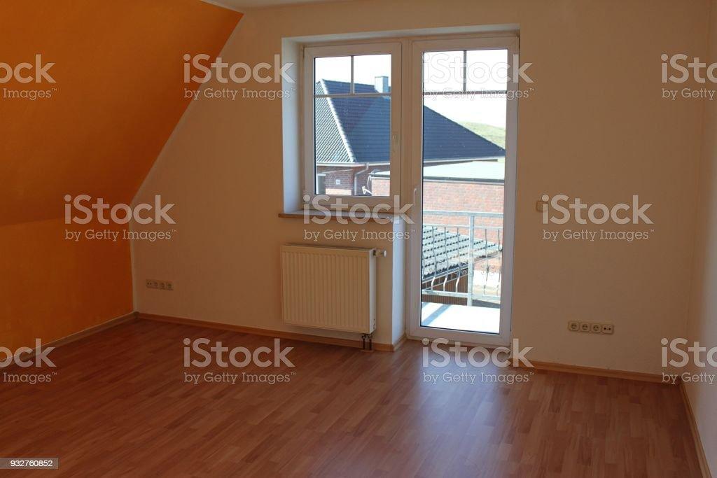 Leerer Raum Mit Einem Fenster Stock Fotografie Und Mehr Bilder Von