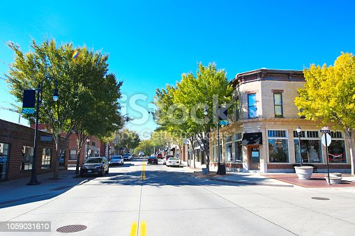 istock Lees Summit Missouri Historic Downtown 1059031610
