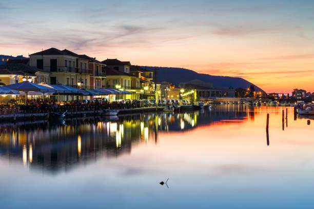 Lefkada island. stock photo
