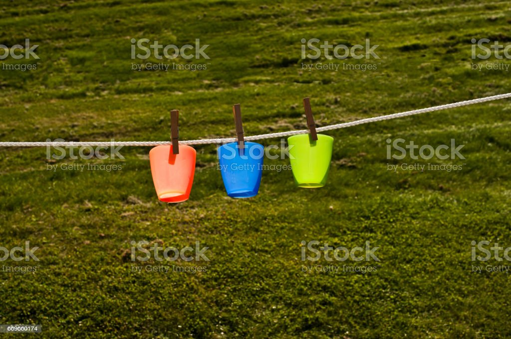 Left Out to Dry stock photo