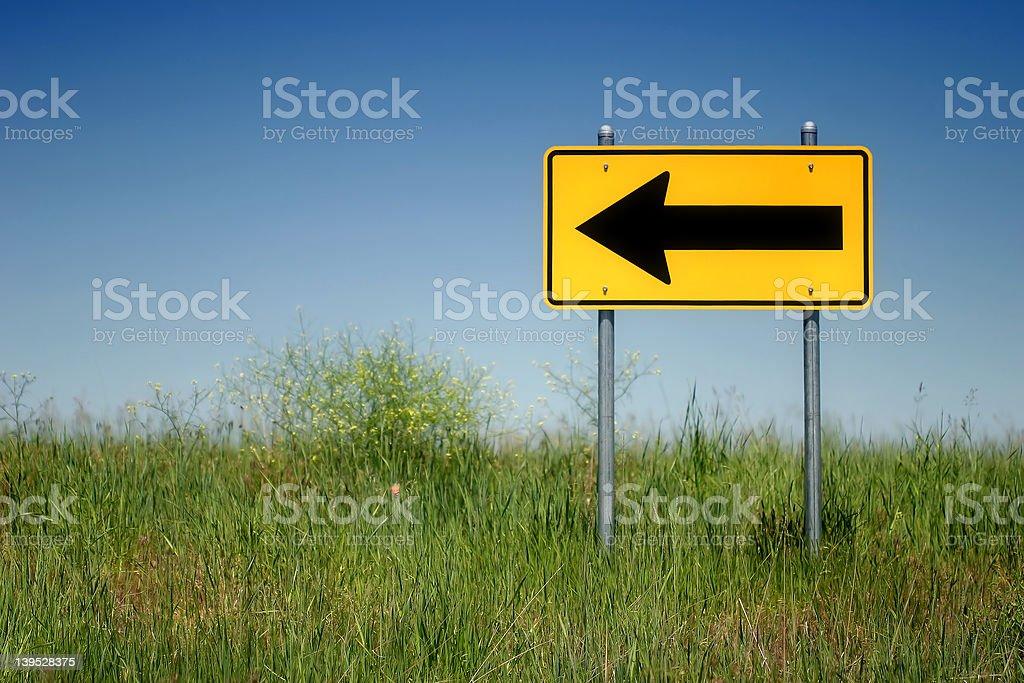 left turn stock photo