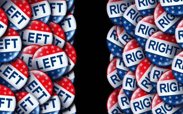 left wing and the right - республиканская партия сша стоковые фото и изображения