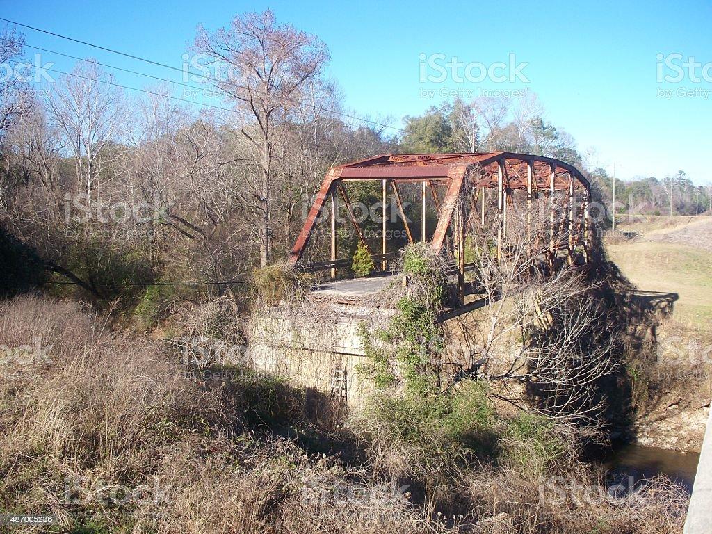 Leftover Bridge stock photo