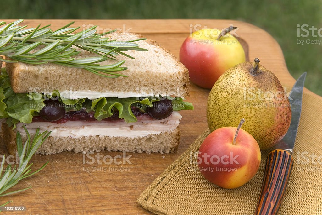 \'Delicious holiday roast turkey dinner sandwich lunch leftovers with...