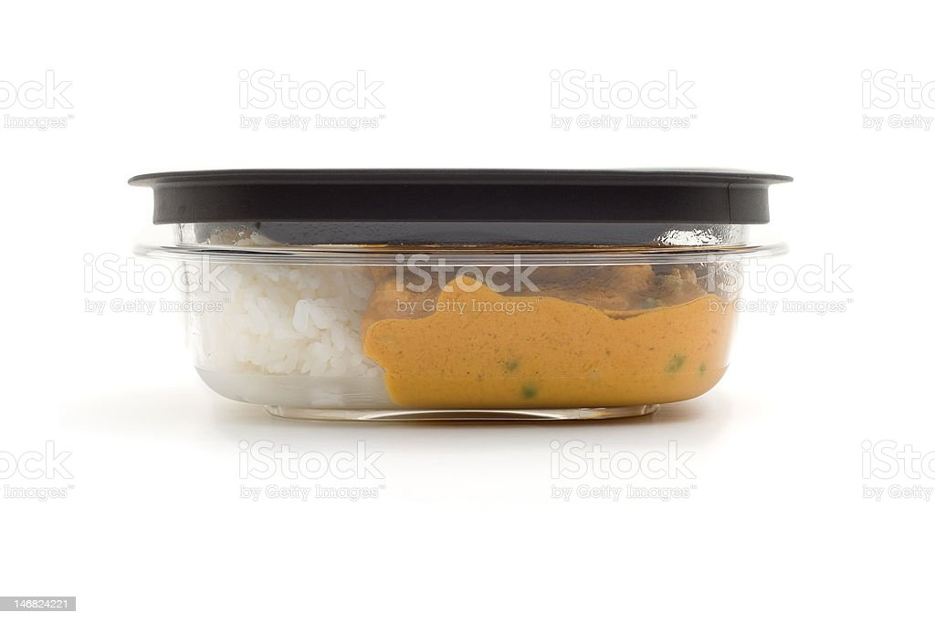 Leftovers for lunch stock photo