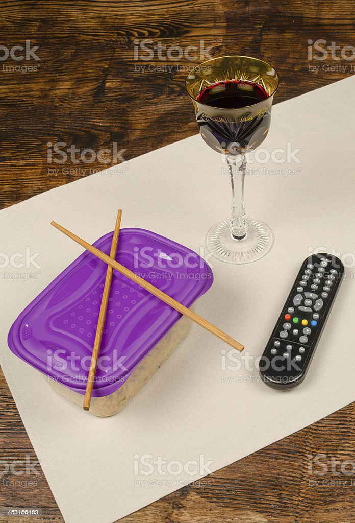 Leftovers royalty-free stock photo