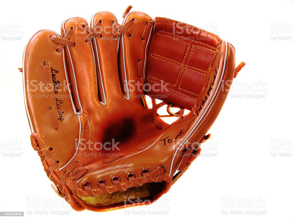 Lefty Basball Glove stock photo