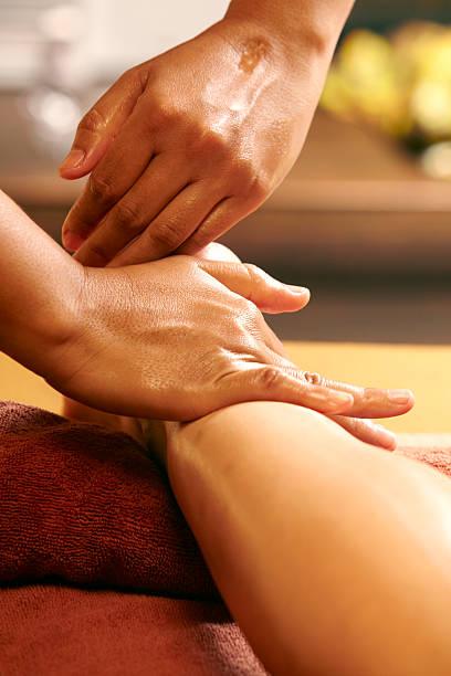 Bein- und Fußmassage – Foto