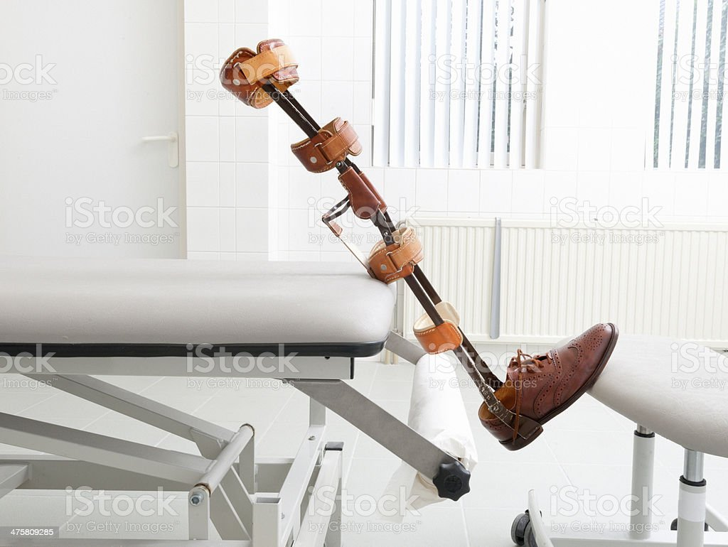leg prosthesis, Artificial Leg and Foot royalty-free stock photo