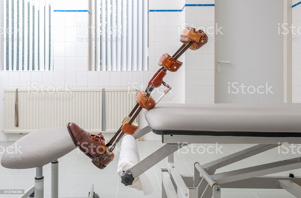 leg prosthesis, Artificial Leg and Foot stock photo