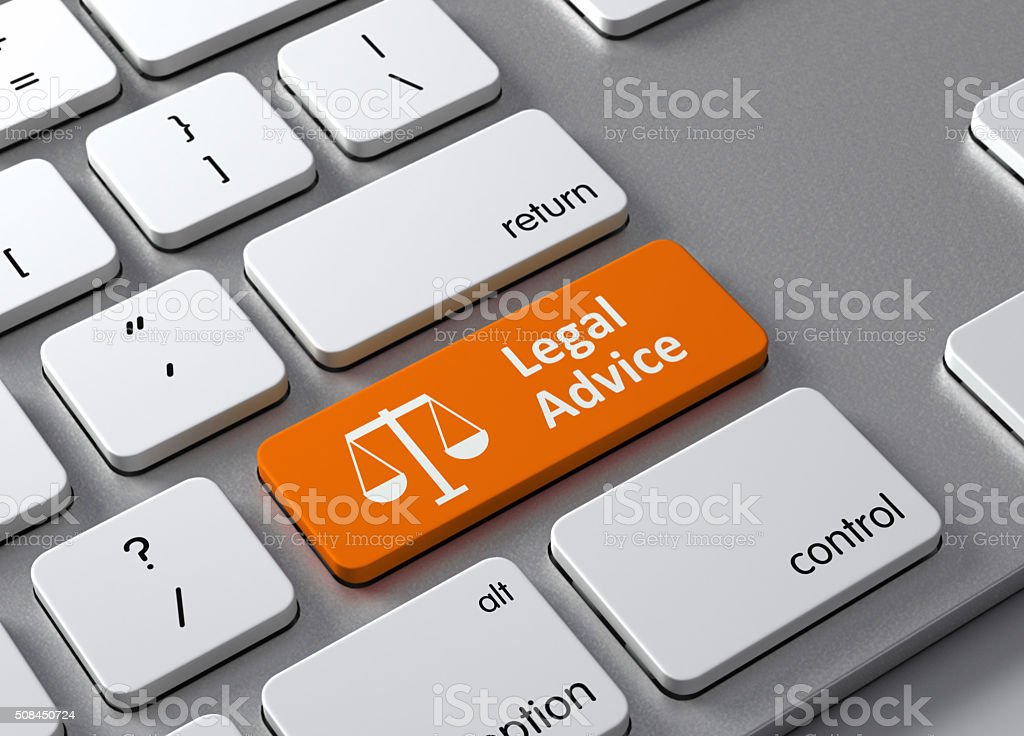 Legal Advice stock photo