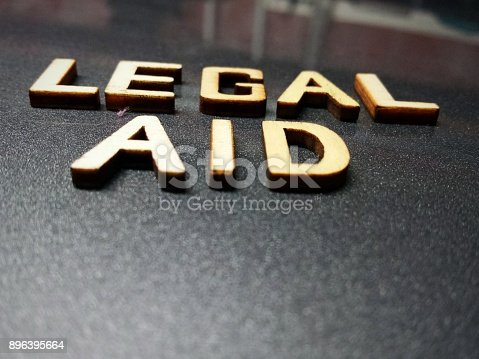istock Legal advice profession word quote heading title 896395664