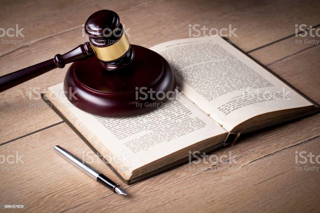 Legal agreemet, legal advisory concept stock photo