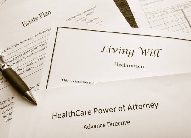legal and estate planning documents - estate planning stock pictures, royalty-free photos & images