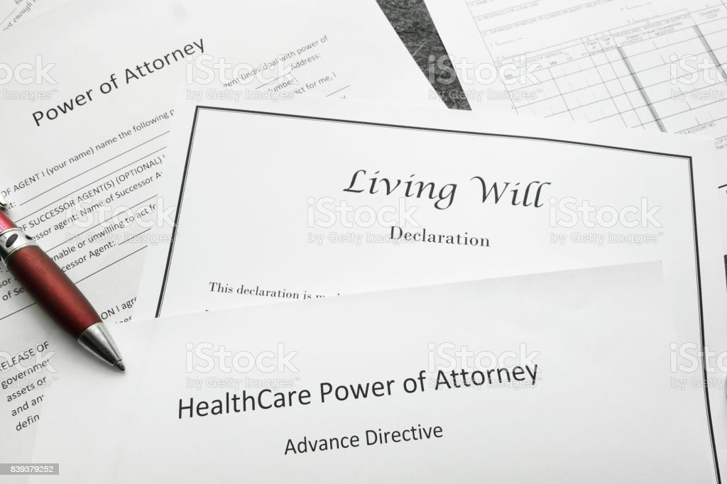 Legal and estate planning stock photo
