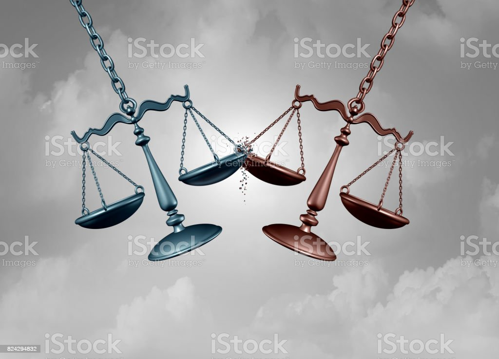 Legal BattleAnd Lawsuit stock photo