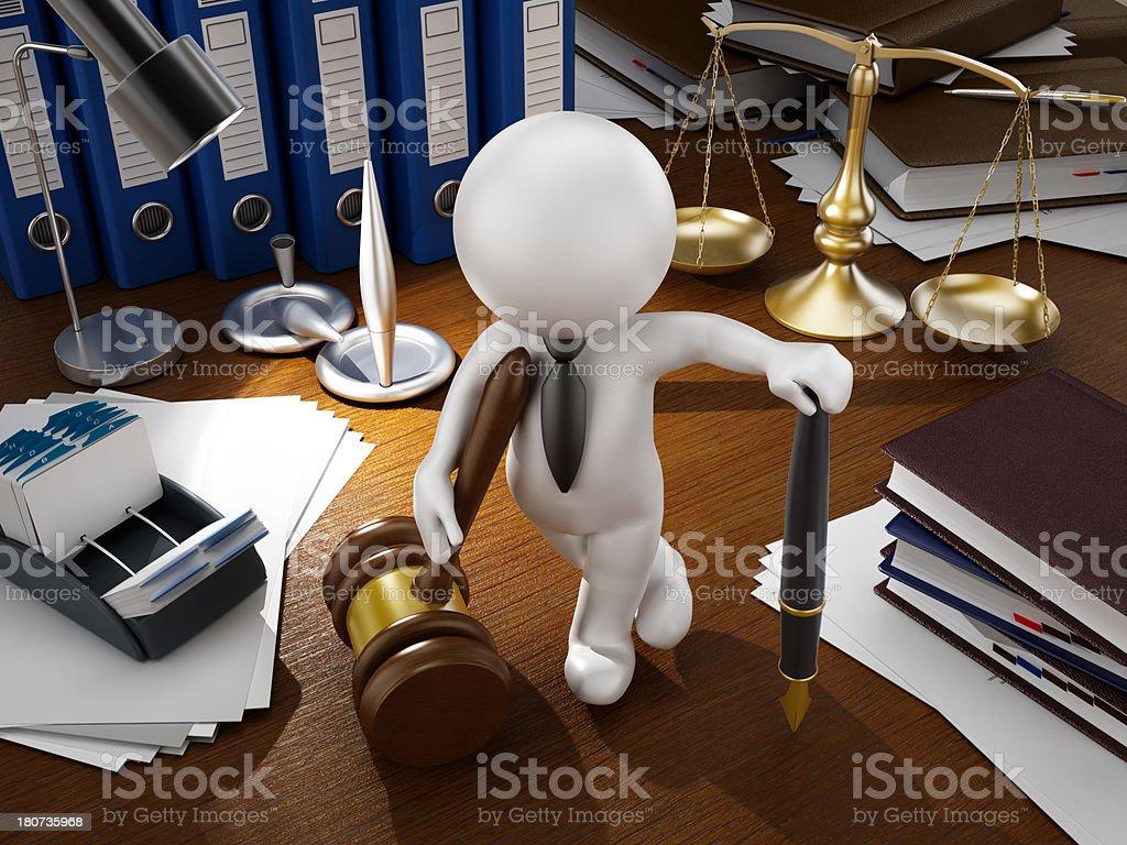 Legal bureau royalty-free stock photo