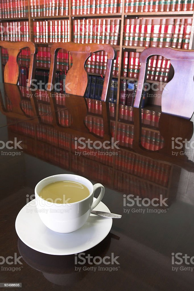 Legal Coffee Cup #3 royalty-free stock photo