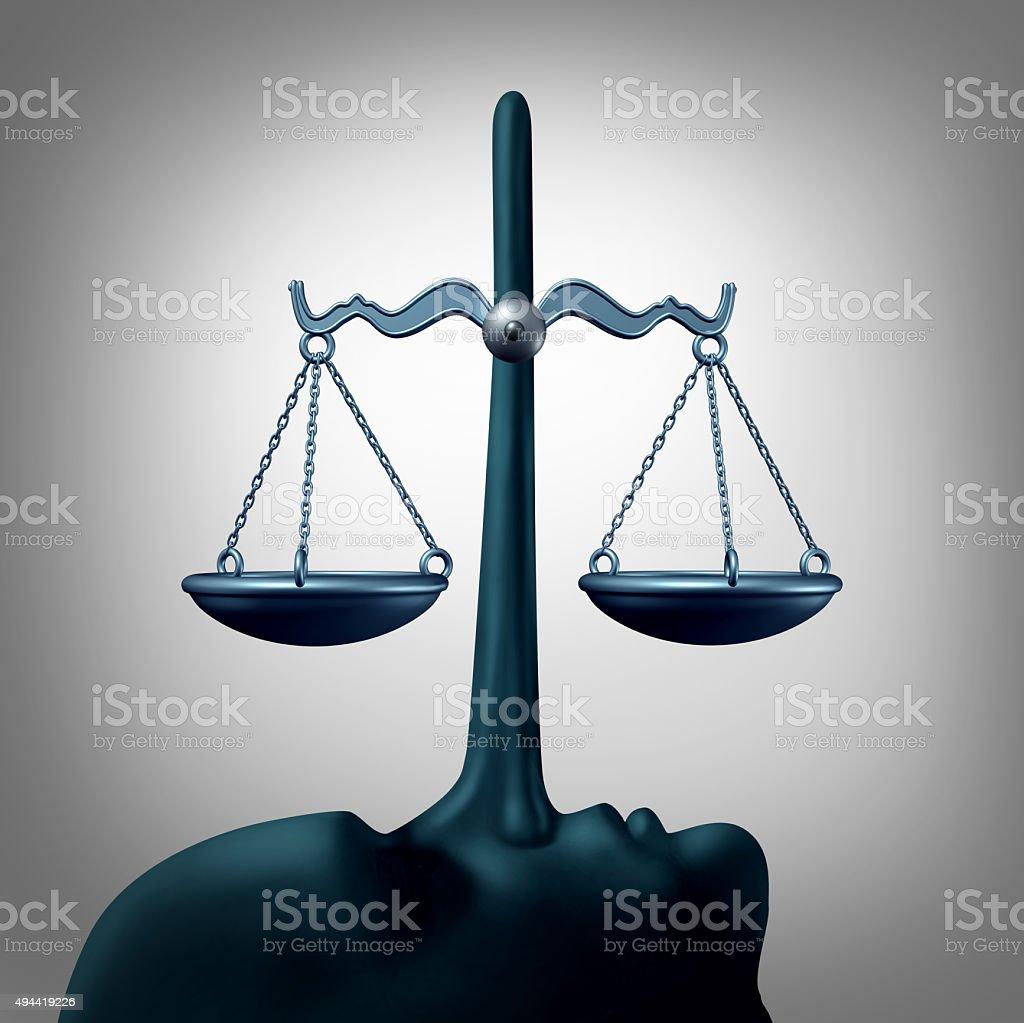 Legal Dishonesty Concept stock photo