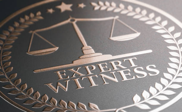 Legal Expertise. Expert Witness Service stock photo