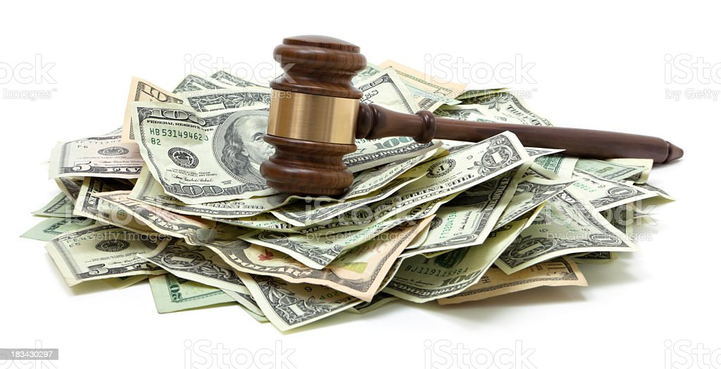 Legal fees stock photo