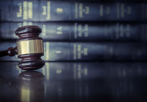 istock Legal law concept image 670968628