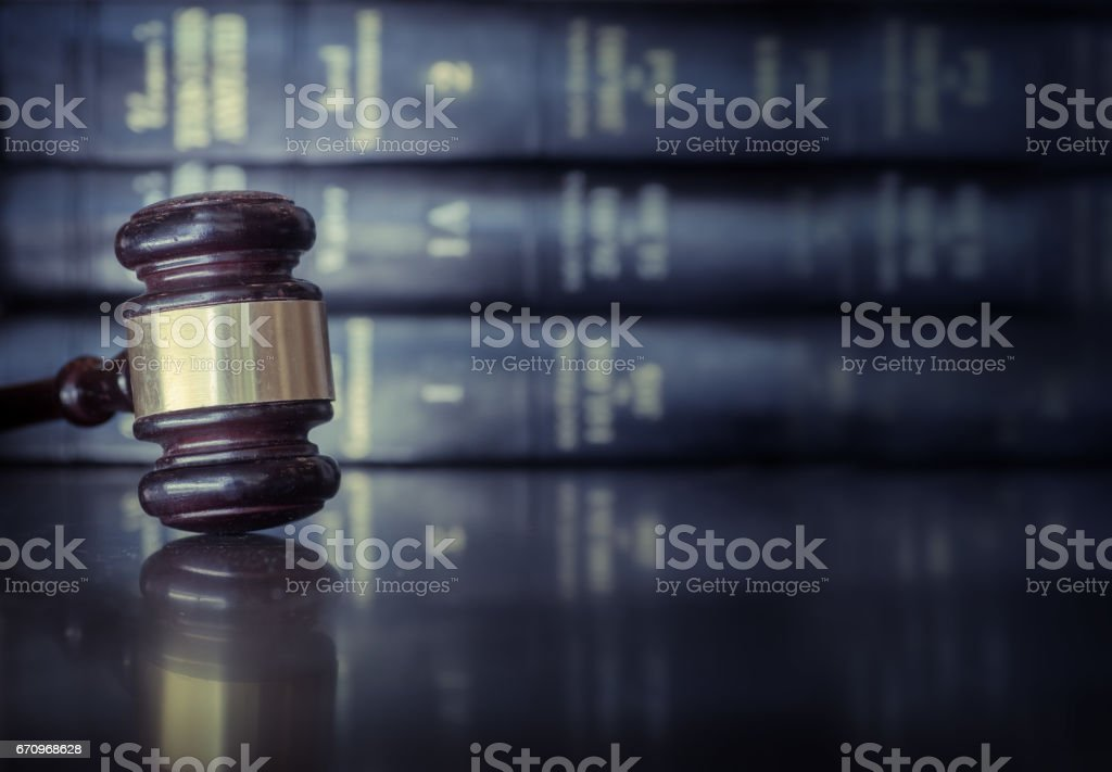 Legal law concept image - foto stock