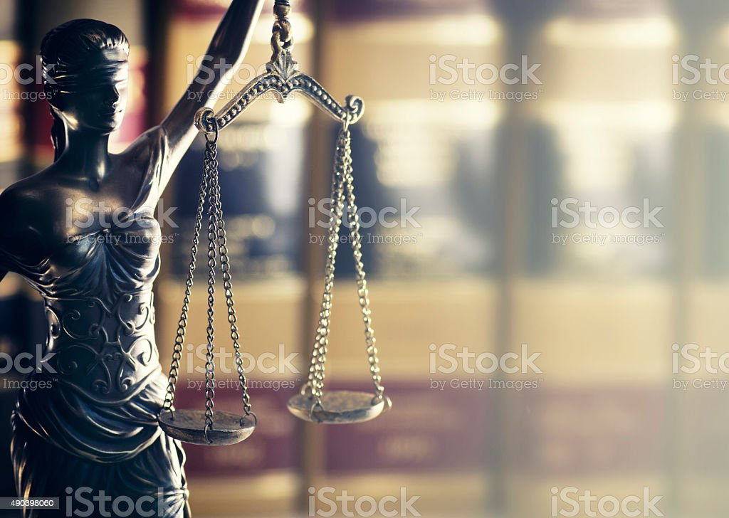 Legal law concept image scales of justice stock photo