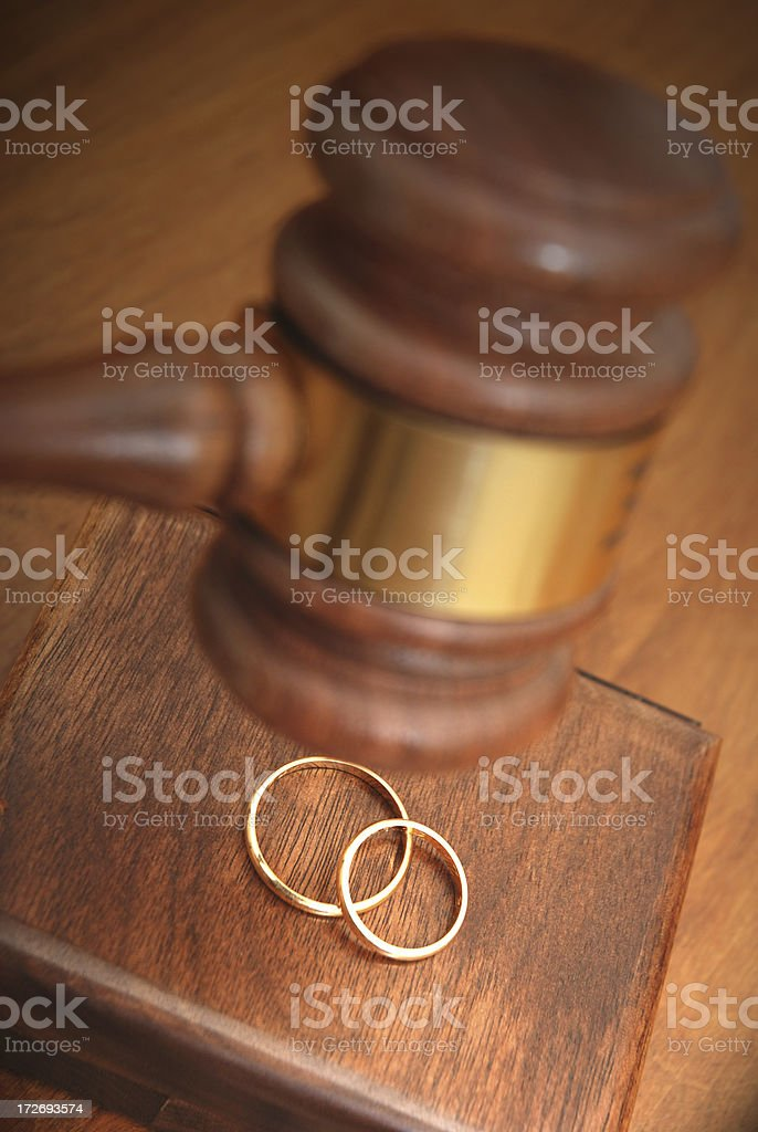 Legal marriage concept royalty-free stock photo